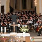 """Konzertgottesdienst in der Stiftskirche in Herrenberg (""""en dr Gluck"""")"""