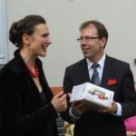Dirigenten bei grenzüberschreitendem Dialog