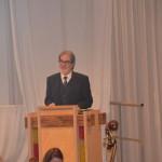 Prof. Dr. Brandl beim Konzertgottesdienst in Bad Liebenzell, 2015